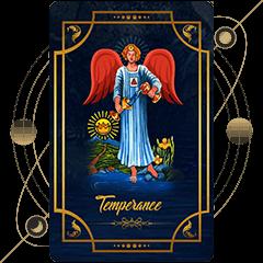 Sagittarius Tarot- Temperance