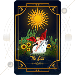 The Sun Tarot Card