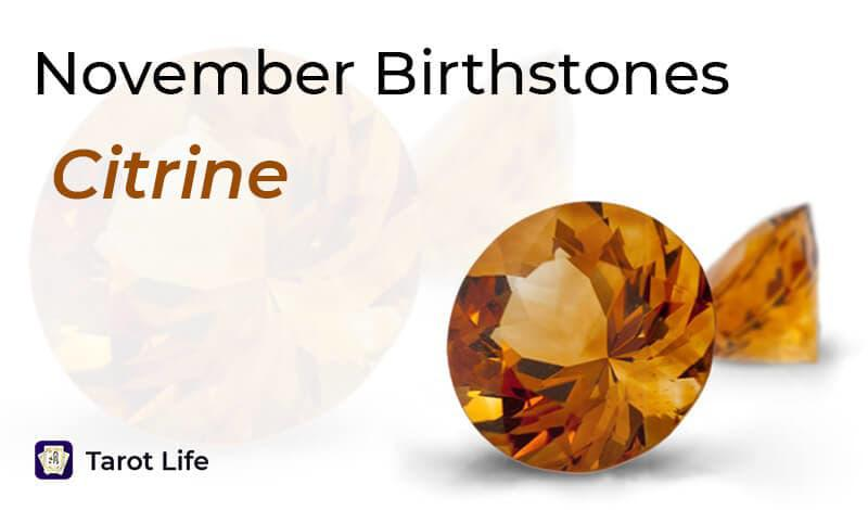 November Birthstones - Citrine