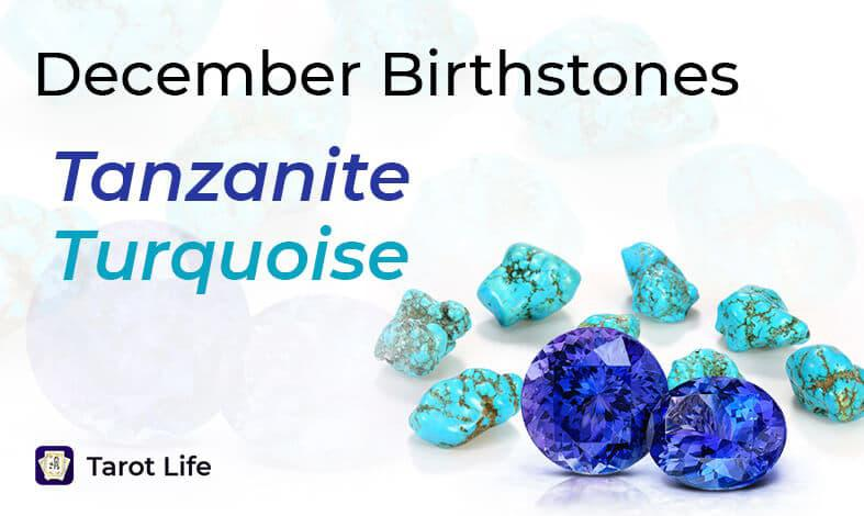 December Birthstones - Tanzanite_Turquoise