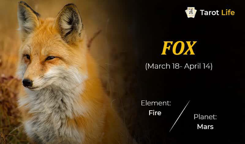 Fox-March 18- April 14