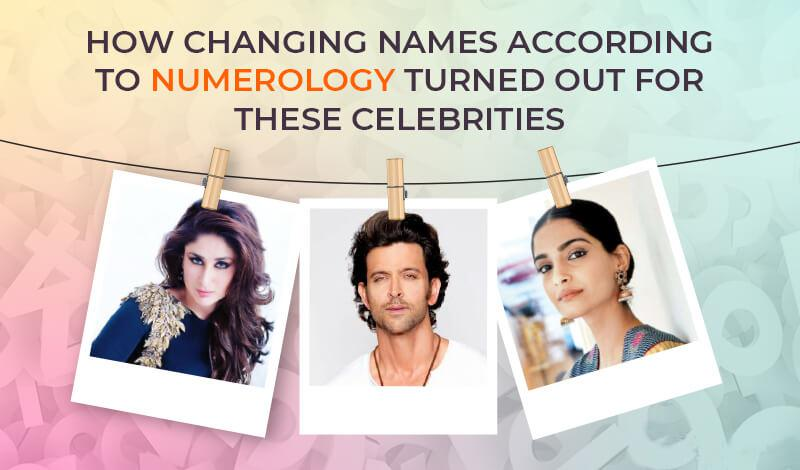 How changing names according to numerology turned out for these celebrities