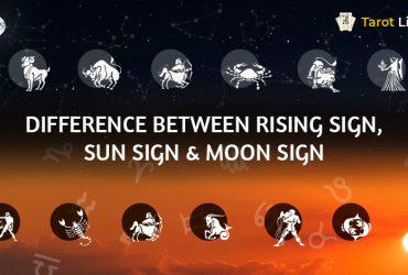 Difference Between Rising, Sun & Moon Sign