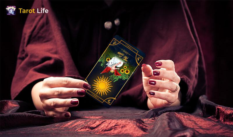 The Sun tarot card Reversed meaning