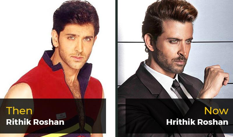 Then Rithik Roshan - Now Hrithik Roshan
